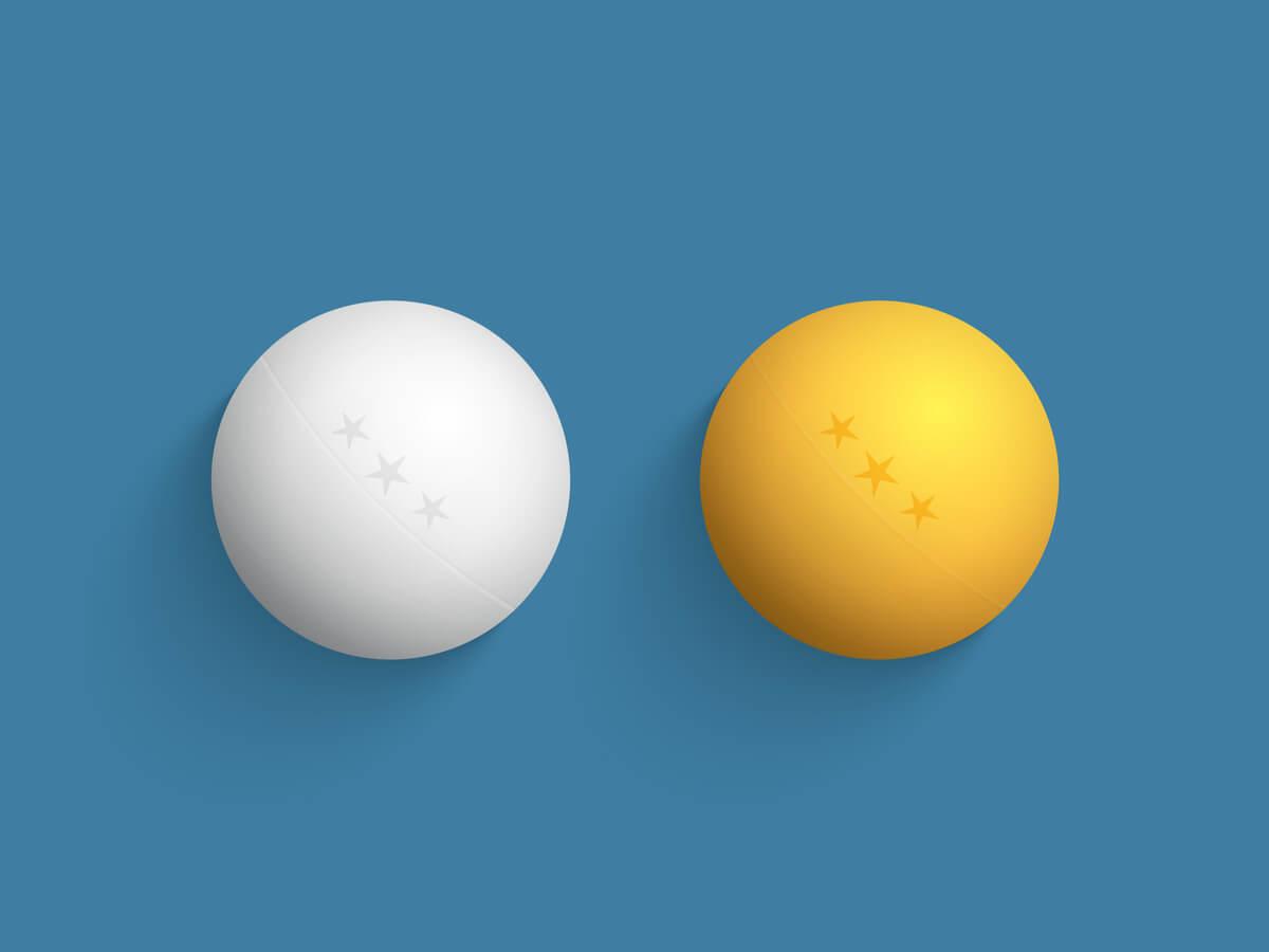 卓球ボールおすすめ15選!格安な値段で購入できる商品や大きさ・色による違いとは