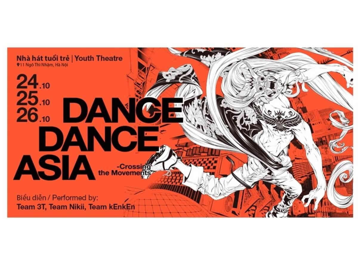 「DANCE DANCE ASIA―Crossing the Movements 2019」東南アジア公演 開催詳細決定!ストリートダンスと芸術が融合した新感覚作品とは?