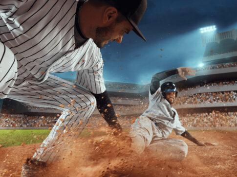 野球 スライディング